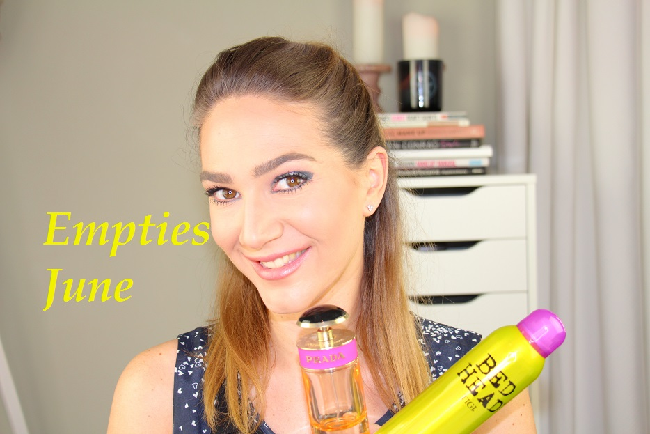 Opgebruikte beauty- en makeup- producten