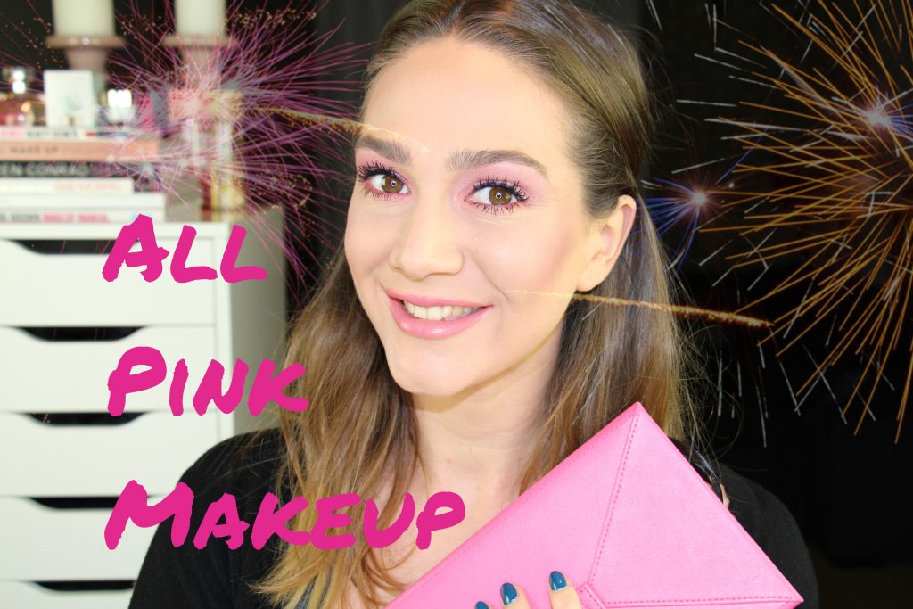 All pink make-up tutorial