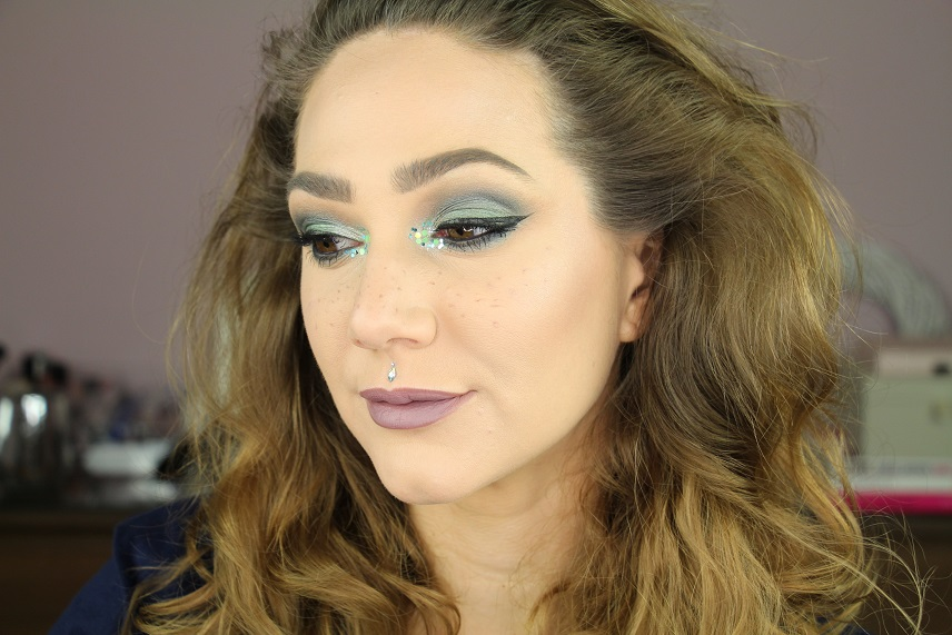 Green Diamond MakeUp