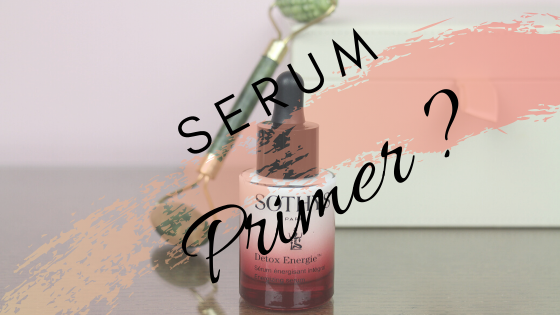 Wordt een 'Serum Primer' een nieuwe hype?